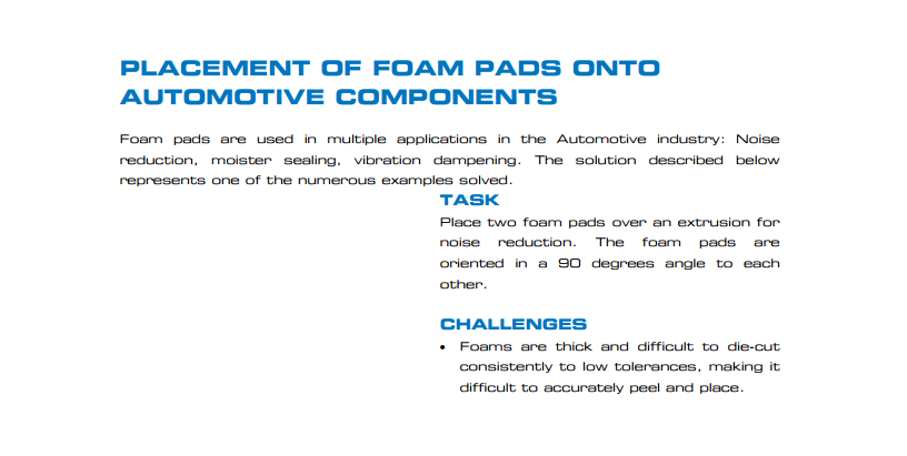 foam-pads--automotive
